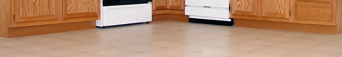 vinyl and linoleum kitchen flooring