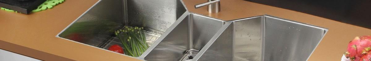 kitchen triple sink